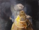 tower of amber      oil on canvas   140x180cm